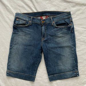 Lucky Brand Womens Jean Shorts Blue Size 12
